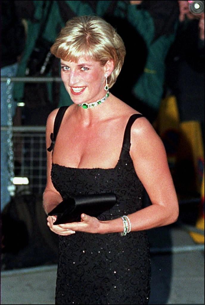 Diana a születésnapjára rendezett gálán.