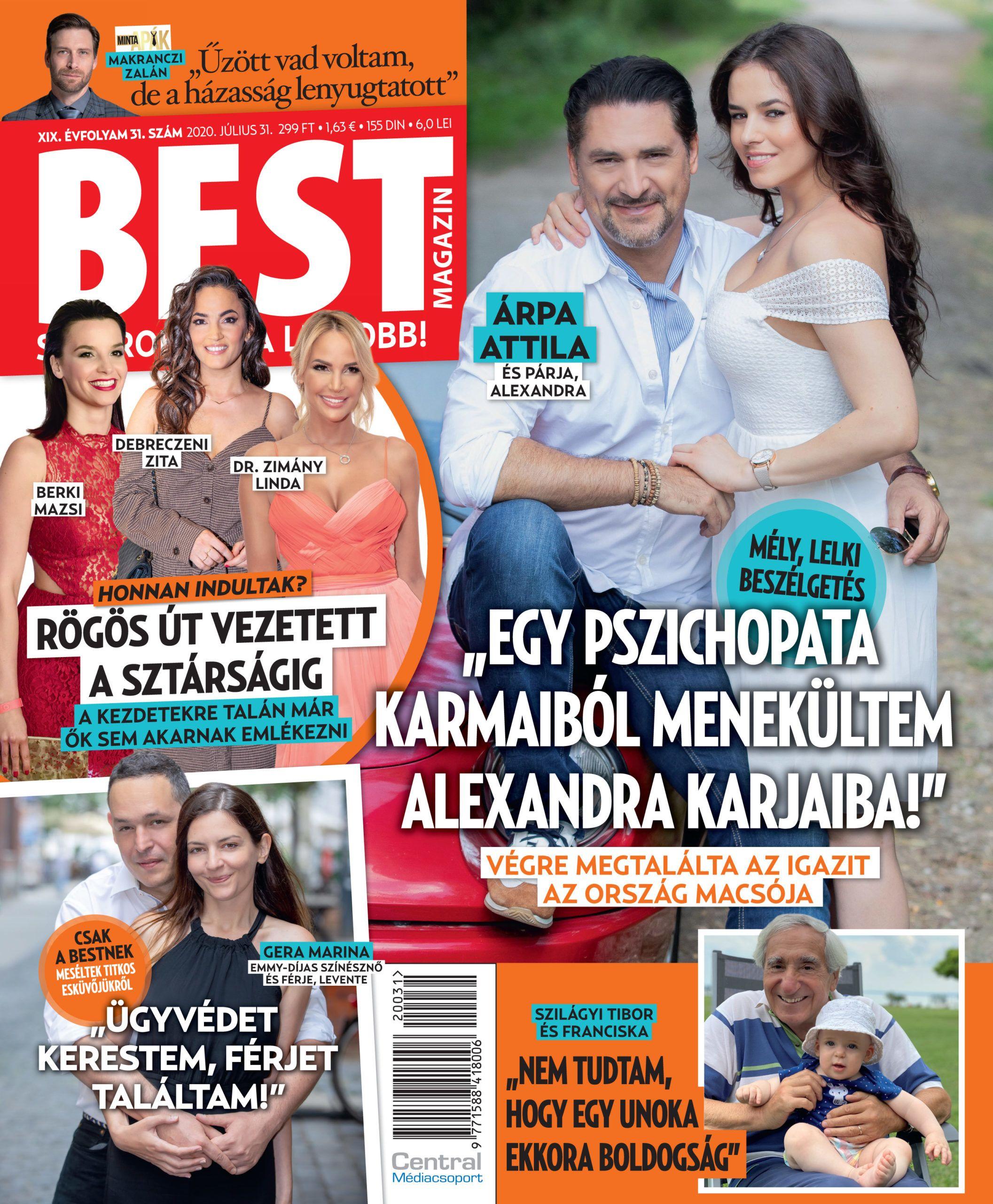 Gera Marina először mutatta meg a férjét - Leventével négy éve házasok