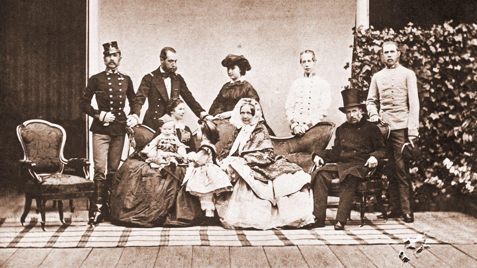 I. Ferenc József és családja