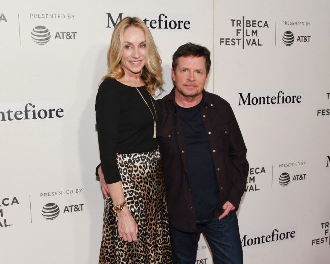 Michael J. Fox és Tracy Pollan