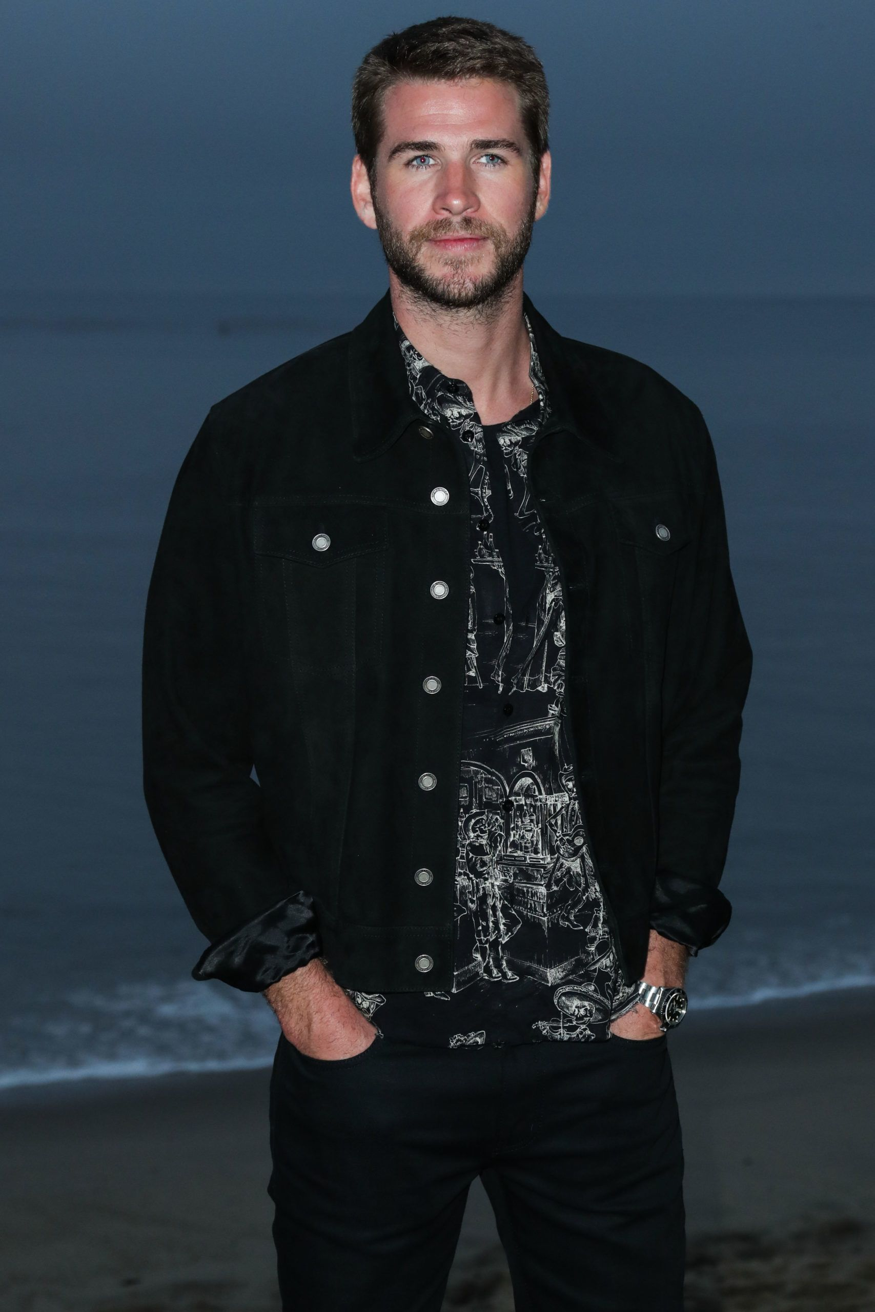 Szép vagy, Liam, de a tesód Chris még szebb (fotó: Xavier Collin/Image Press Agency/NurPhoto)
