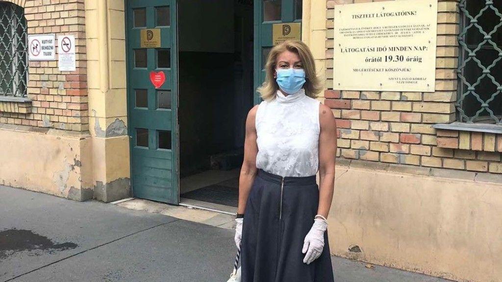 Barta Sylvia nehezen gyógyult fel a betegségből (Fotó:bartasylvia_hivatalos/ Instagram)