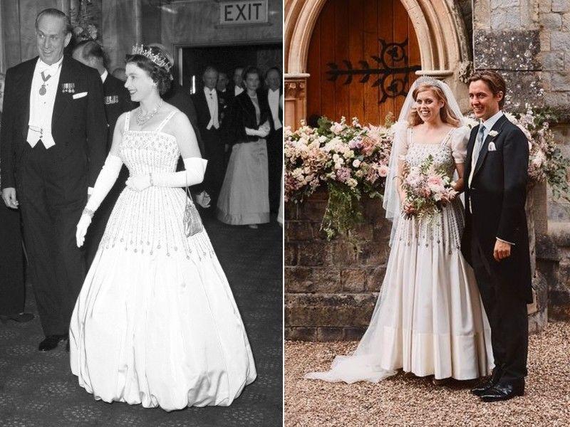 II. Erzsébet a filmpremieren és Beatrix hercegnő az esküvőjén viselte a ruhát