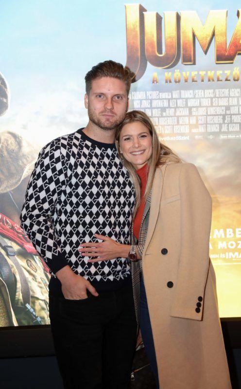 Weisz Fanni és férje Hajmásy Péter