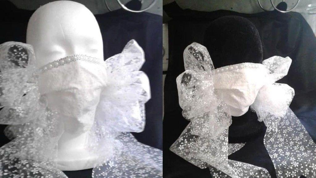 Az esküvői maszk, amit mindenki utál (fotó: Facebook)