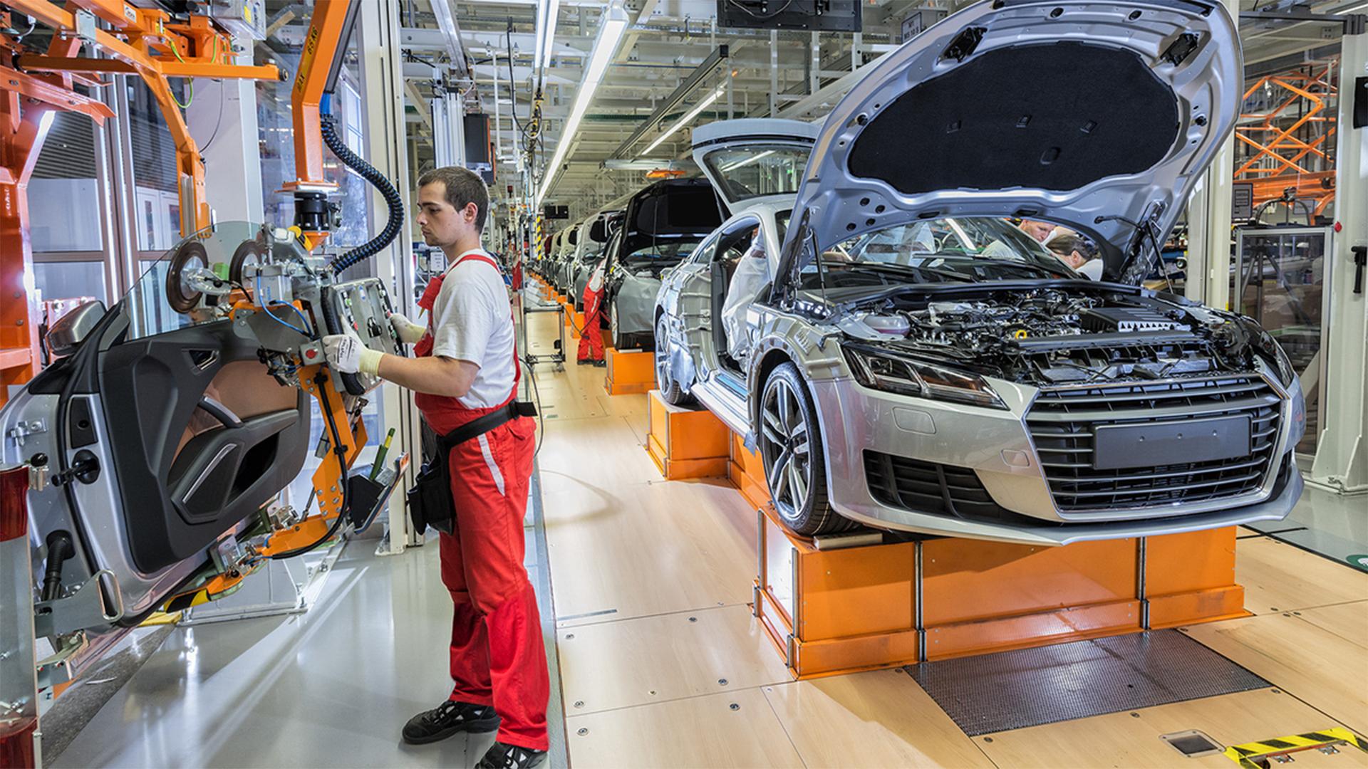 Koronavírus-fertőzött a győri Audi-gyár egyik dolgozója