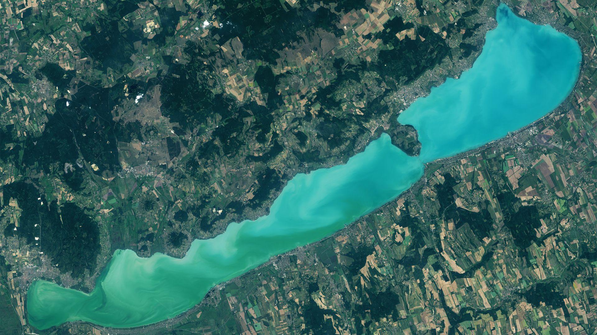 Évtizedek óta javul a Balaton vízminősége
