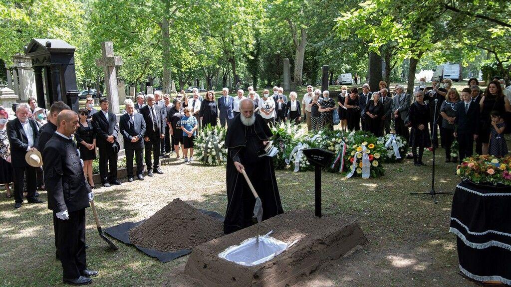 Bálint gazda temetése