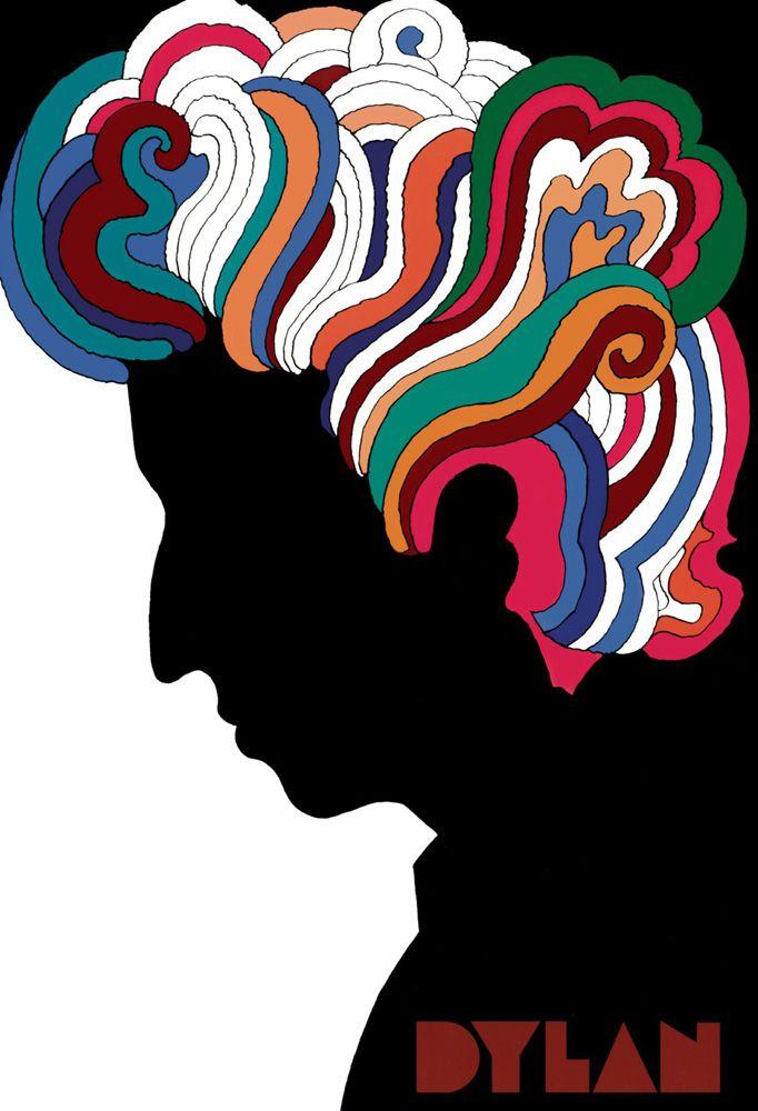 Milton Glaser Bob Dylan posztere