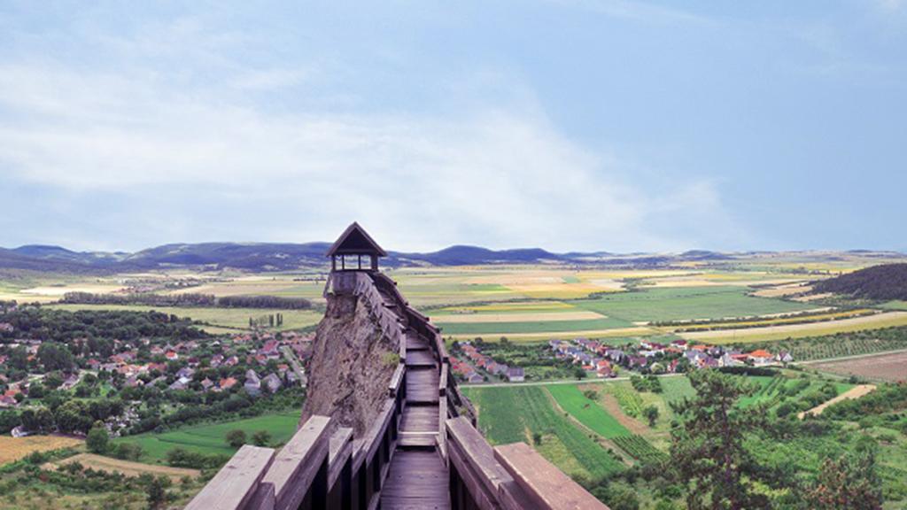 A boldogkői várból gyönyörű a kilátás (a szerző fotója)