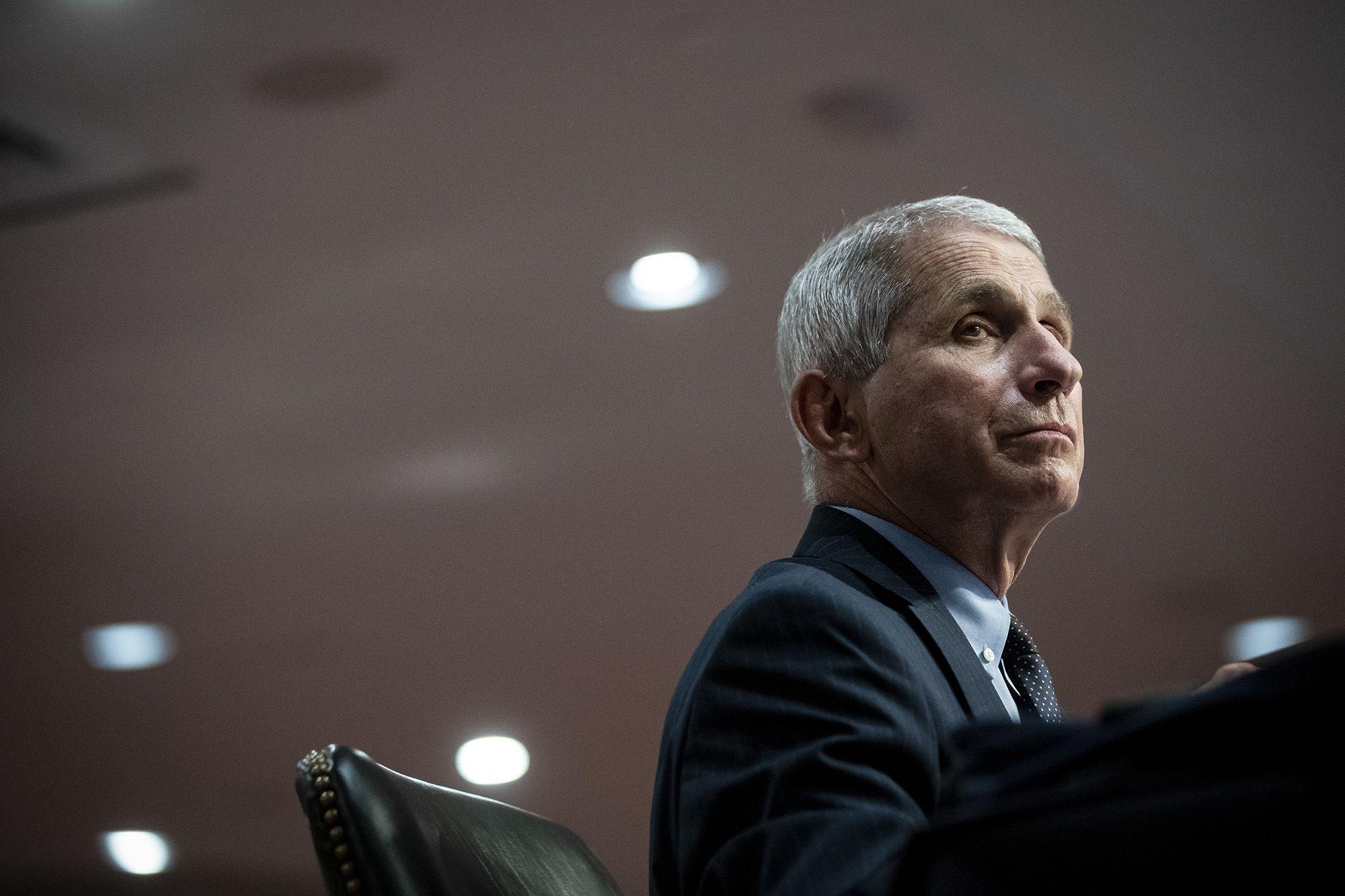 Anthony Fauci (fotó: Al Drago/Bloomberg via Getty Images)