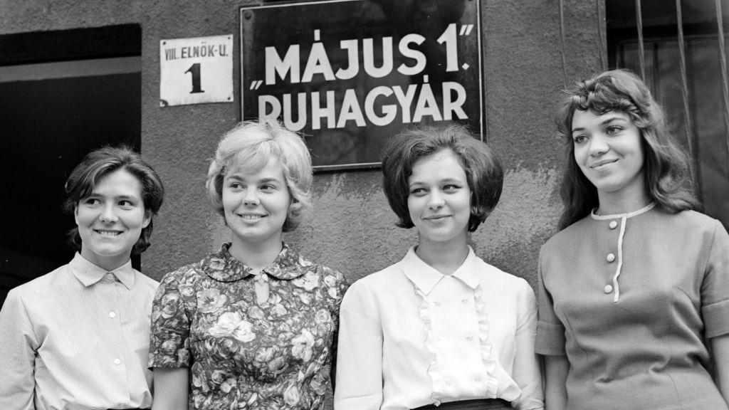 A Május 1. ruhagyár diktálta a retro divatot