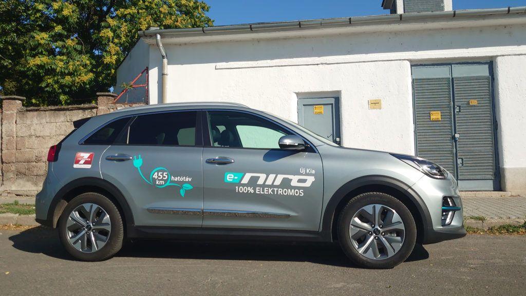 KIA e-NIRO teszt: egy használható elektromos autó