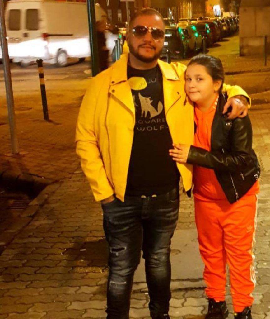 Emilio és lánya, Vivi márciusban
