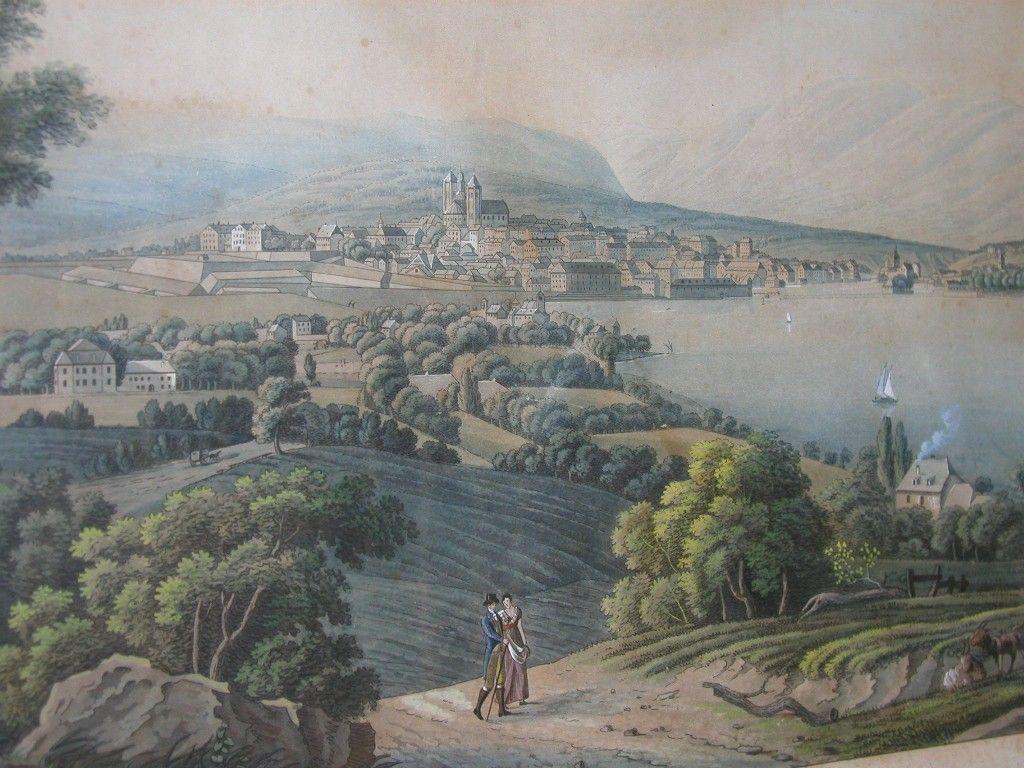 Svájci tájkép a 18. századból (forrás: Wikipedia)