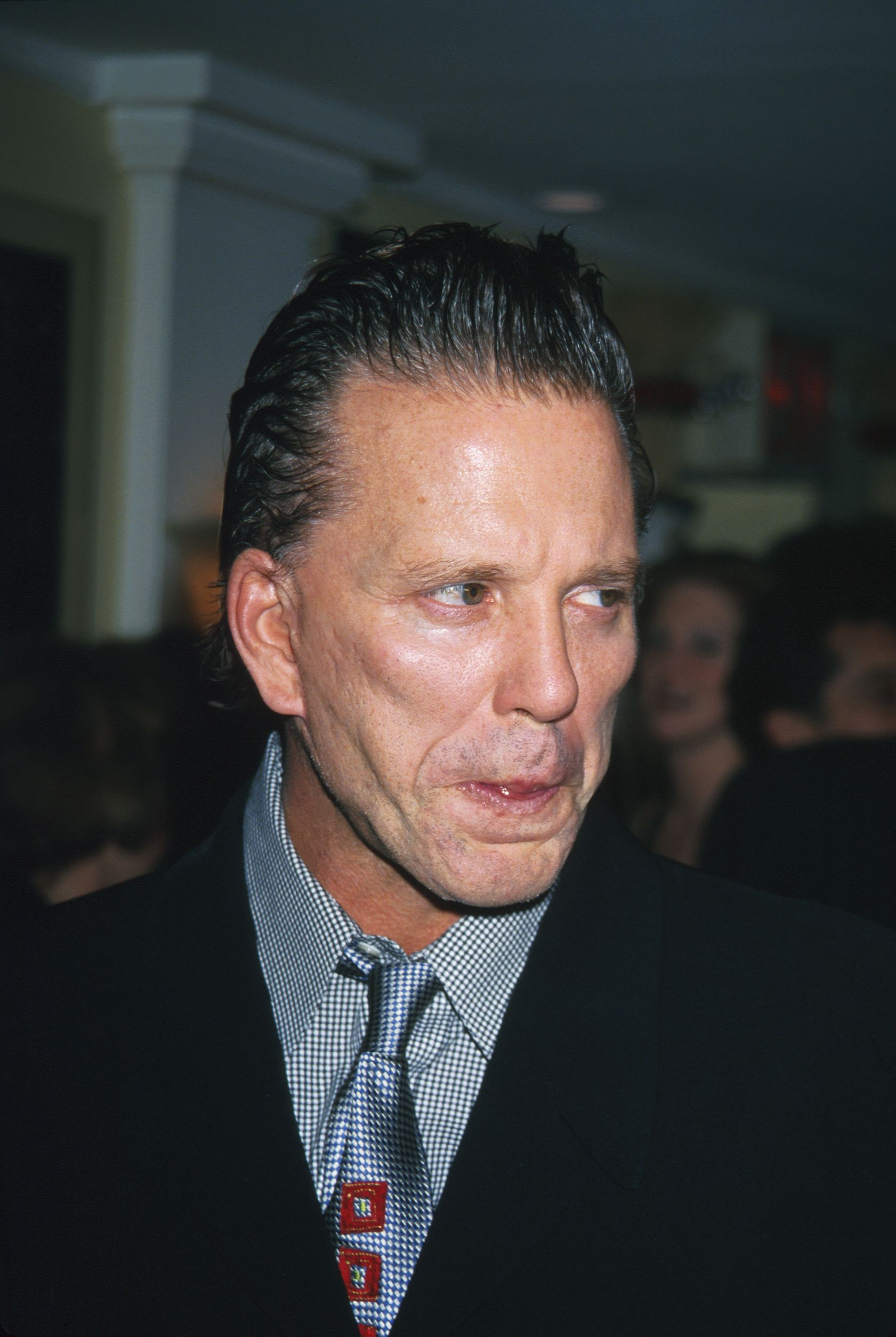 Mickey Rourke a Nello étteremben (Photo by Mitchell Gerber/Corbis/VCG via Getty Images)