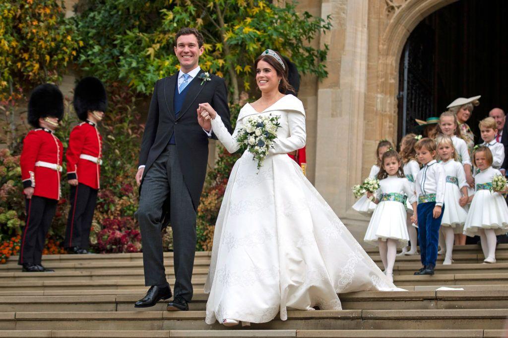 A hercegnő hét évet várt erre a napra, és egy csodálatos Peter Pilotto és Christopher de Vos által tervezett ruhát viselt