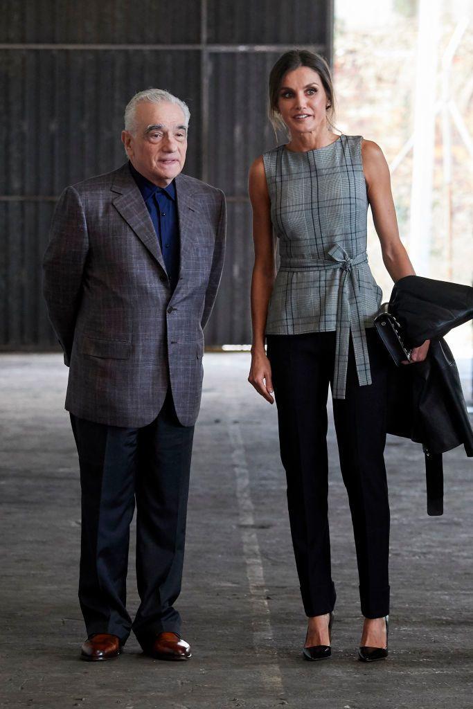 Letícia királyné és Martin Scorsese