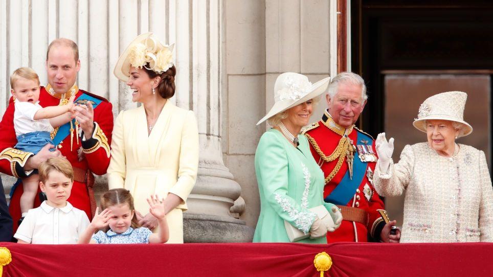 A brit királyi család 2019-ben