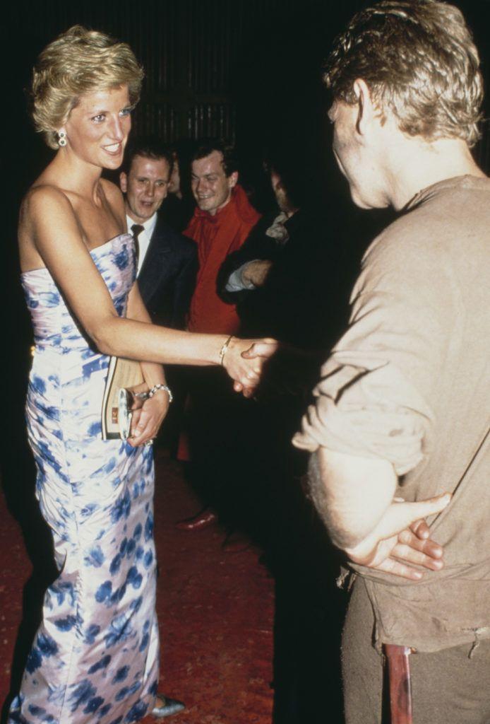 Diana hercegnő Budapesten