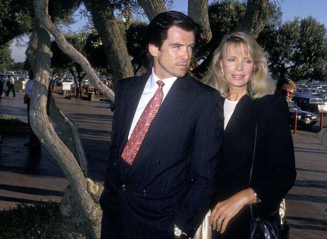 Pierce Brosnan és Cassandra Harris