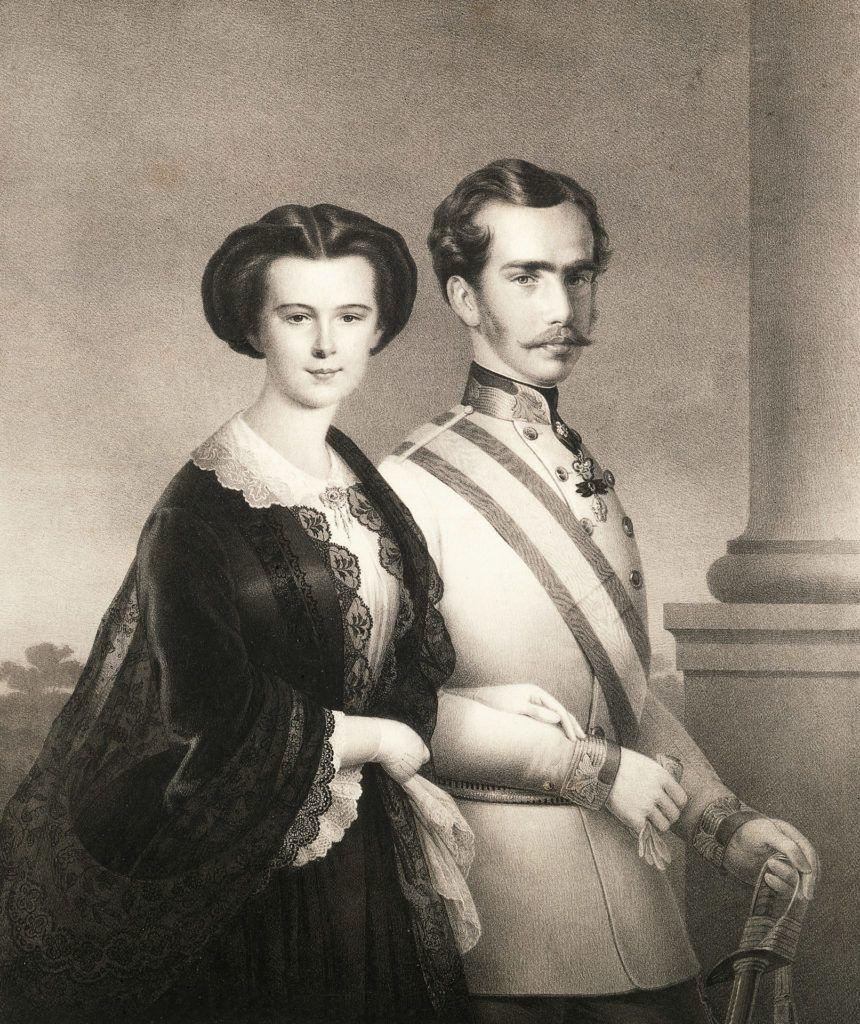 I. Ferenc József és felesége Sissi
