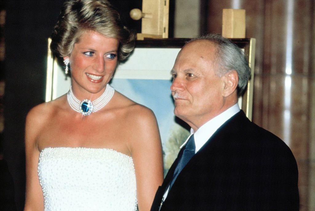 Diana hercegnő és Göncz Árpád