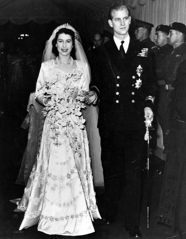 II. Erzsébet és Fülöp herceg esküvő 1947