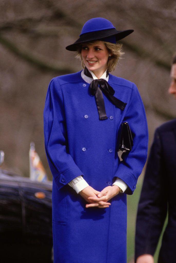 Diana hercegnő Herfordshire-ben, 1985 tavaszán
