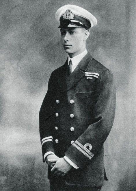 Albert herceg, a későbbi VI. György 1918-ban