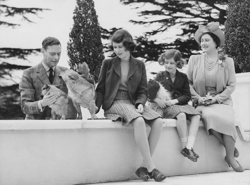 A királyi család 1940-ben