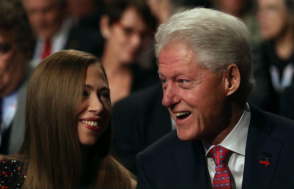 Bill Clinton és Chelsea Clinton