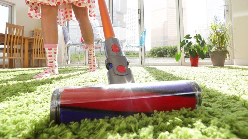 A shaggy szőnyeg extra ápolást igényel