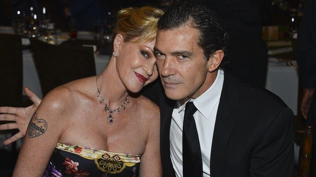 Melanie Griffith és Antonio Banderas