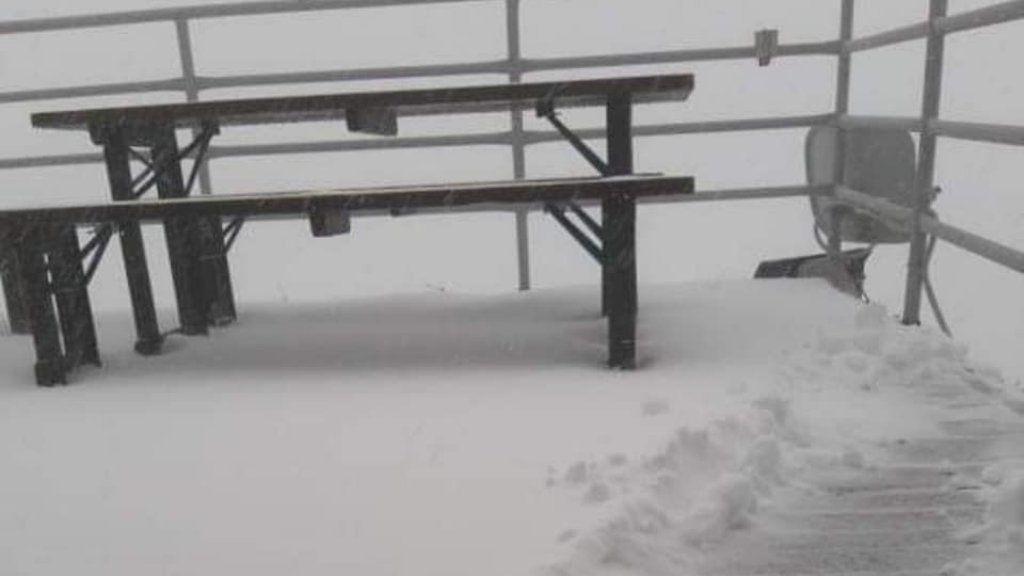 július havazás a Tátrában