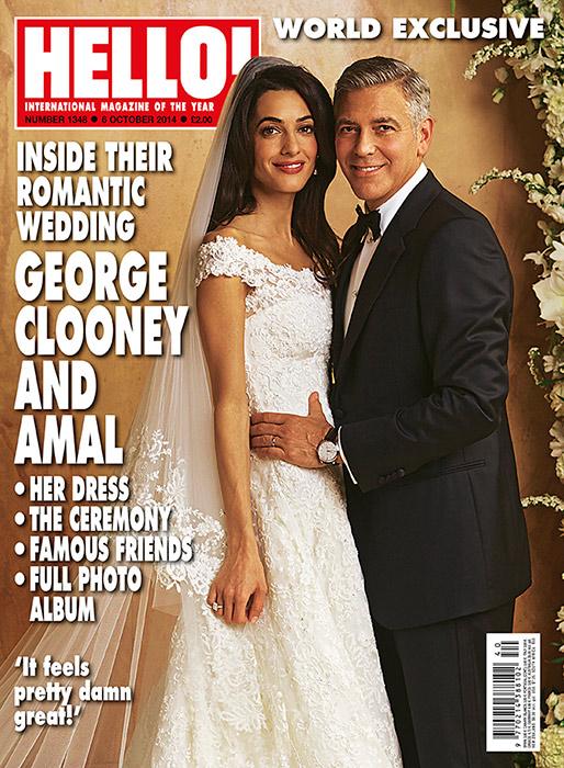 Amal Clooney és George Clooney esküvője