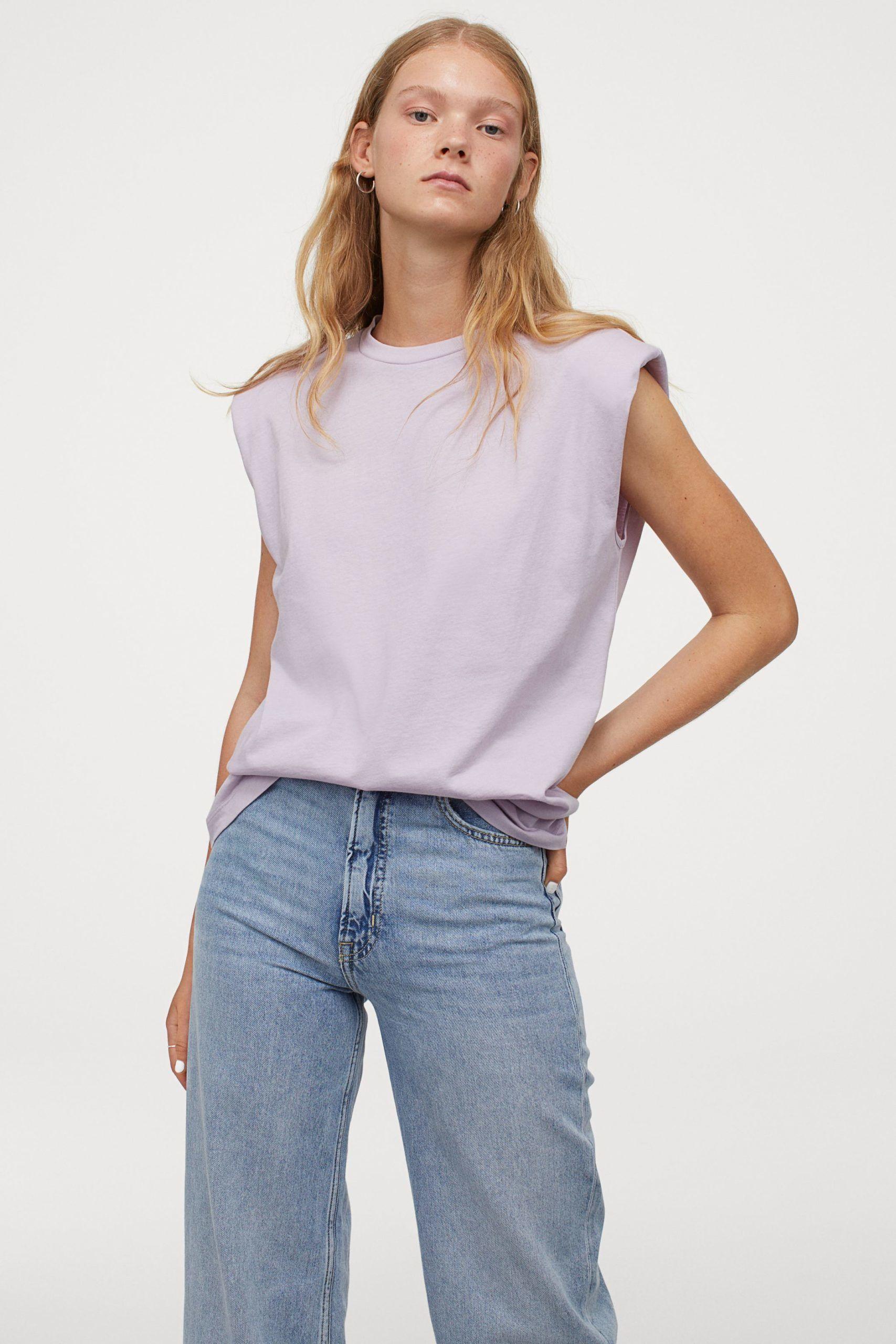 H&M válltöméses póló