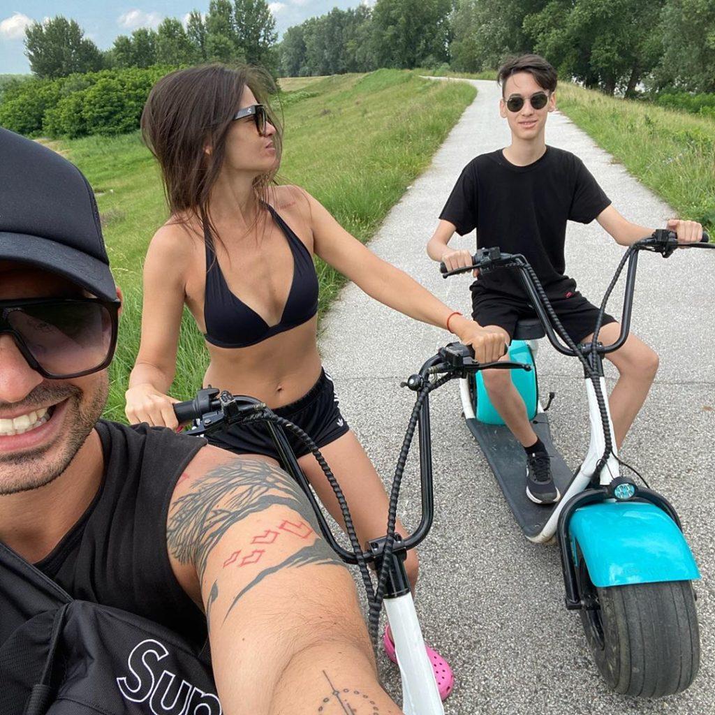Horváth Tomi a családjával a Tiszánál kirándult (Fotó: Instagram)