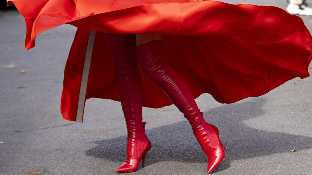 Hosszú női láb - Fotó: Getty