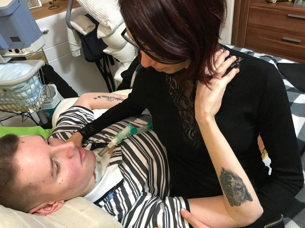 Szerelemre talált a Duchenne-szindrómás Dávid