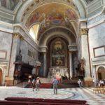 Oltár az Esztergomi Bazilikában