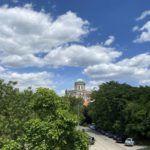 Az Esztergomi Bazilika a Mária Valéria hídról