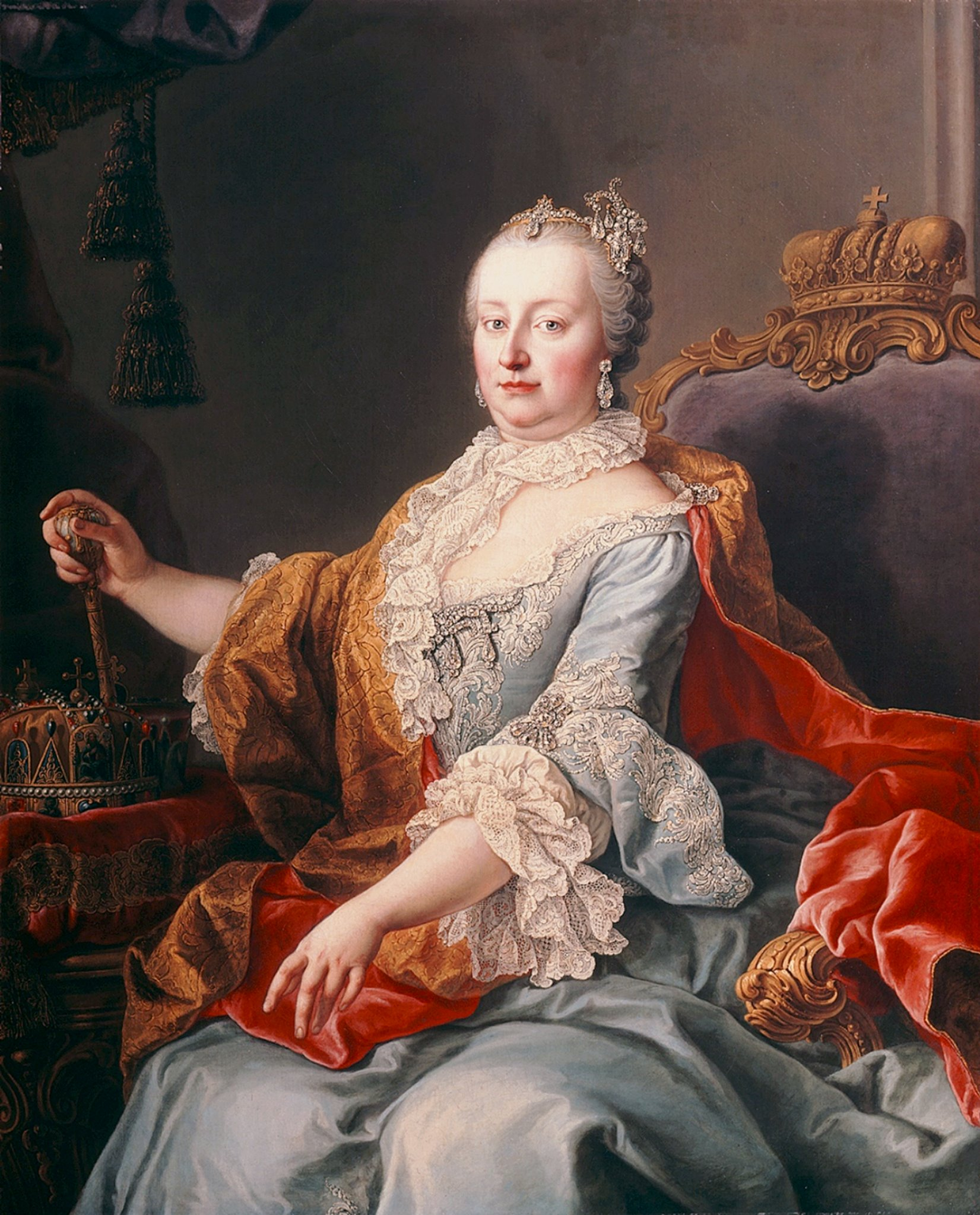 Mária Terézia magyar királynő (forrás: Wikipedia)