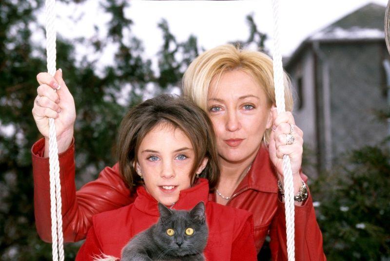 Kandász Andrea és lánya, Lolita 2004-ben