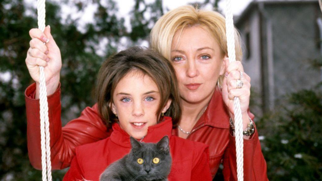 Kandász Andrea és lánya, Szabó Lolita