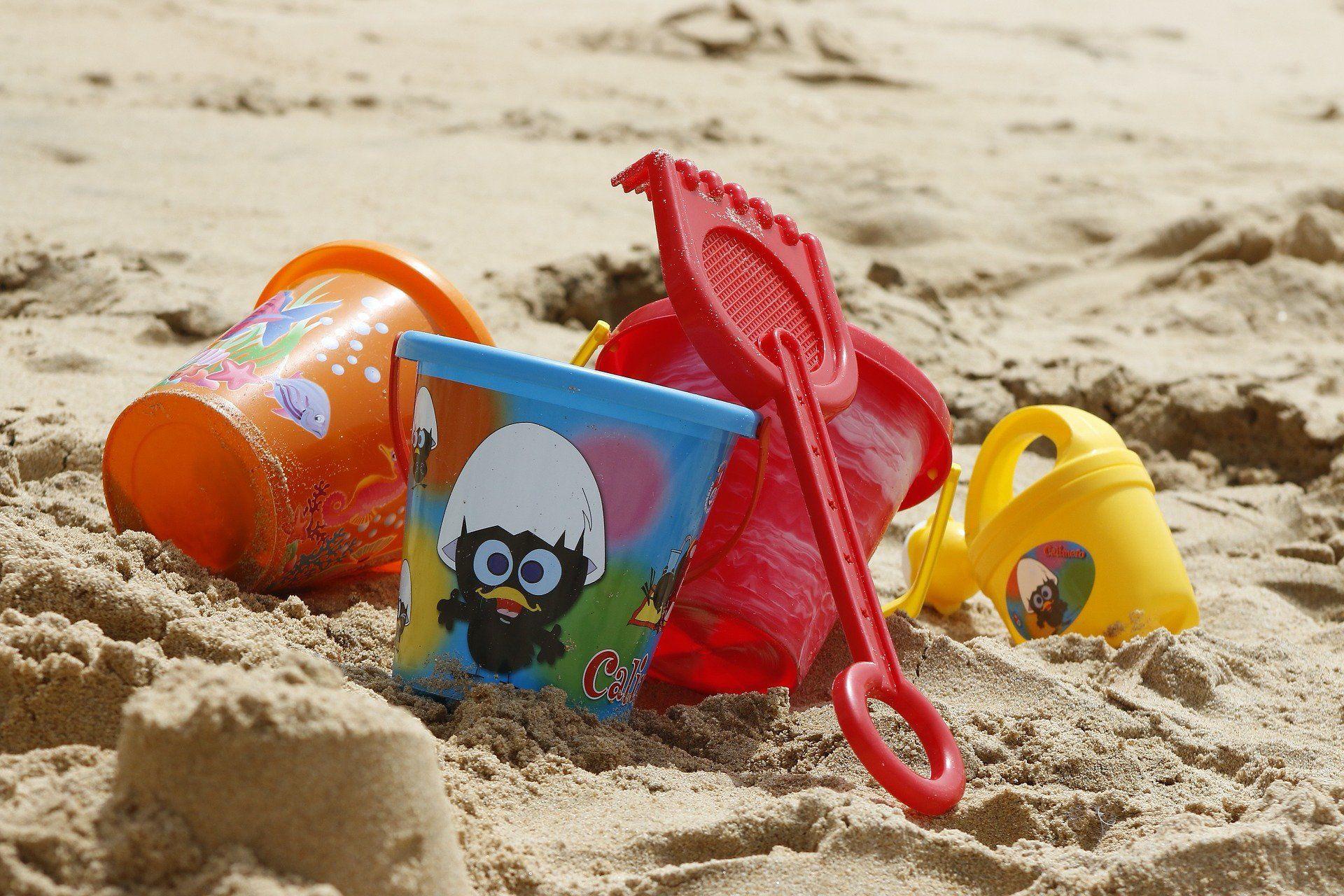 Gyerekjátékok a strandon