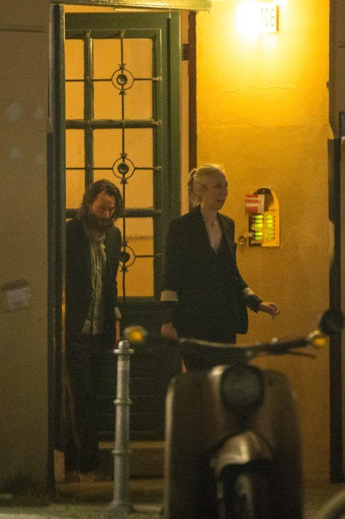Keanu Reeves és Alexandra Grant Berlinben