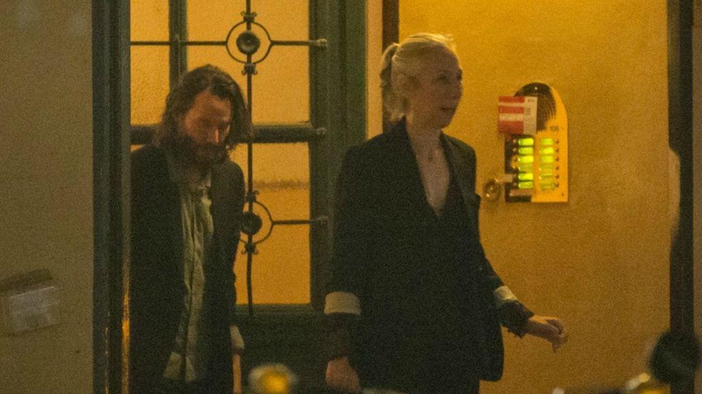 Keanu Reeves és a barátnője Berlinben