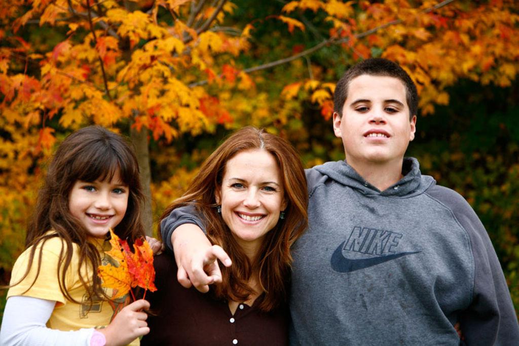Kelly Preston és John Travolta két idősebb gyereke: Jett és Ella. Nagyobbik fiuk 16 évesen halt meg (Fotó: Rogers and Cowan via Getty Images)