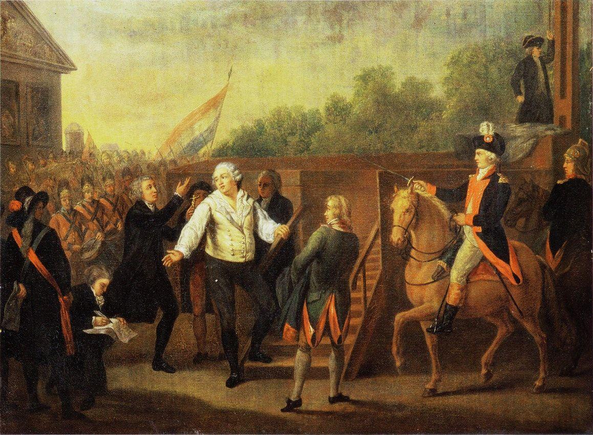 Véres látványosság volt XVI. Lajos kivégzése
